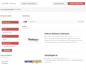 Tax Consultant Marketplace